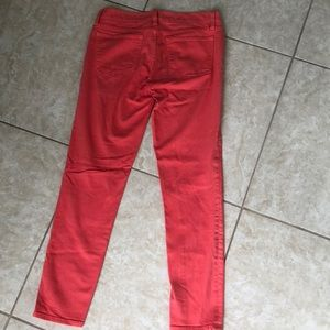 J. Crew Pants - J. Crew Ankle Toothpick Jeans Pink/Coral Size 25